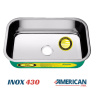 cuba de inox green 56x34x14 alto brilho american steel 3