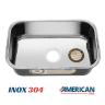 cuba de inox 3 5 n02 black 56x34 alto brilho american steel 2