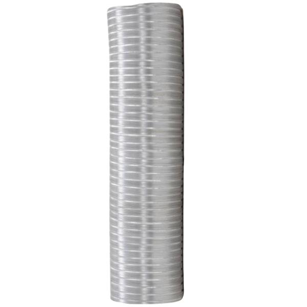 duto de aluminio 1 5m x 100mm 002006 distak