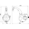 torneira eletrica lumen 220v5500w hydra 4