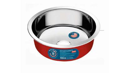 cuba de inox 3 5 n02 red 35 cm redonda american steel 2