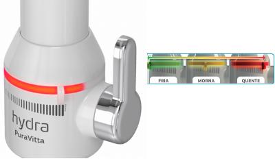 torneira eletrica puravitta com purificador de bancada branca hydra descricao 400x235 3