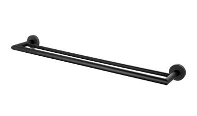 porta toalha loren loft black 2042 b82 duplo lorenzetti 3