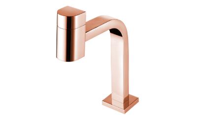 torneira lavatorio de mesa rose gold 1194 r55 lorenzetti 4
