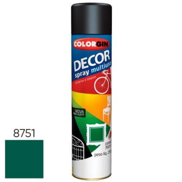 spray decor verde folha 875