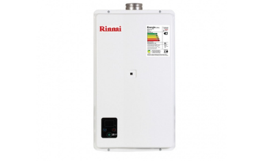 aquecedor de agua a gas glp branco 27 litros rinnai 5