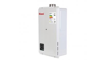 aquecedor de agua a gas glp branco 27 litros rinnai 6