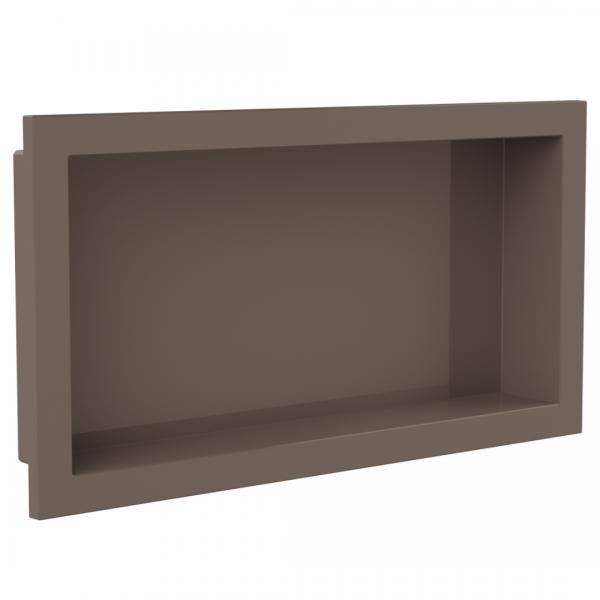 nicho para embutir 30x60cm arquitech capuccino