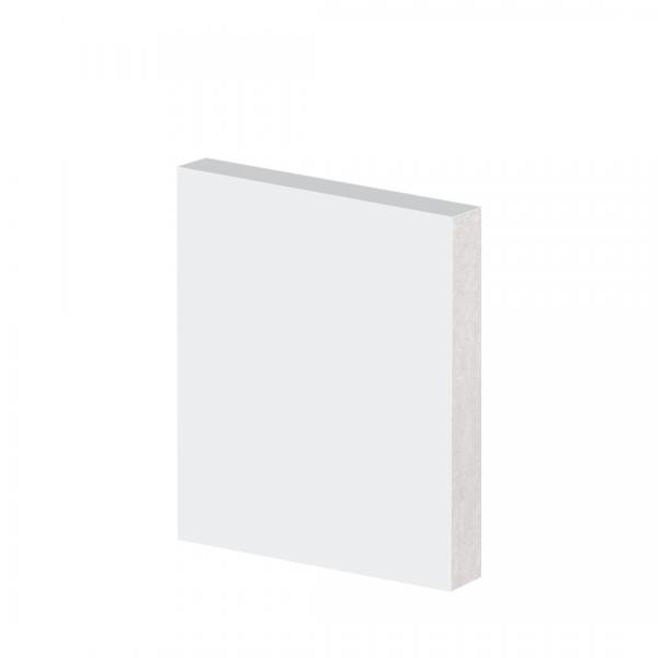 guarnicao poliestireno 10cmx225 metros branca arquitech site correto 40010 liso repare barra