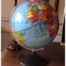 globo terrestre politico mapa mundi 32cm giratorio com base 2