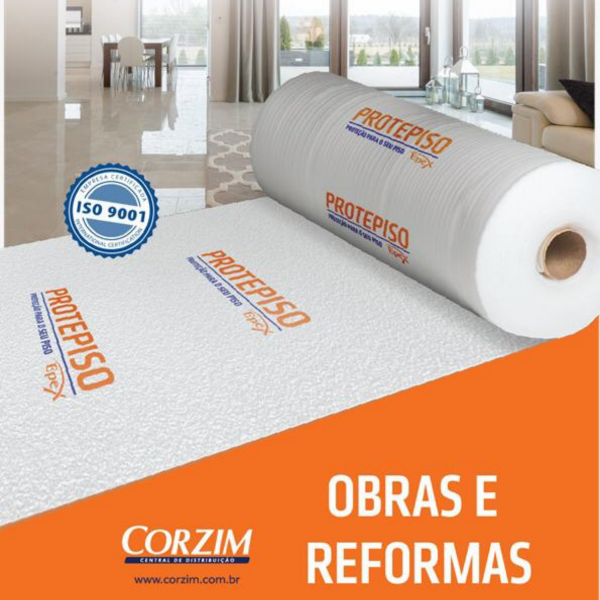 manta protepiso 2 mm 1 20 x 25m 30 m2 rolo epex 5