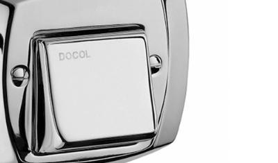 acabamento para valvula de dercarga docol classico 1500006 cromado descritivo