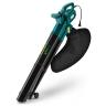soprador e aspirador de folhas 2000 watts com recolhedor vb2101e