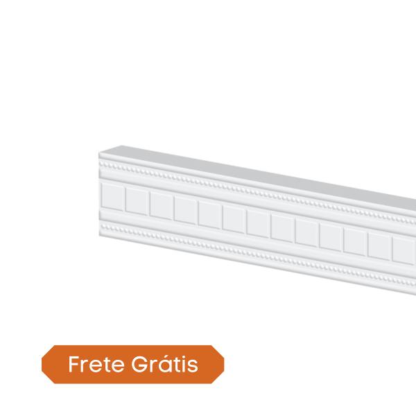rodameio boiserie trabalhado arquitech 33003 classico branco capa frete gratis